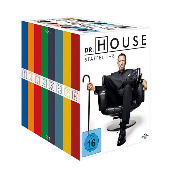 Dr. House - Die komplette Serie, Season 1-8