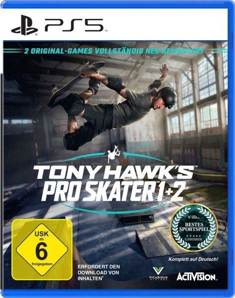 Tony Hawks Pro Skater 1+2 PS5 Remastered