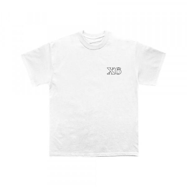 X6 - T-Shirt - Sarg - White inkl. Sargbox