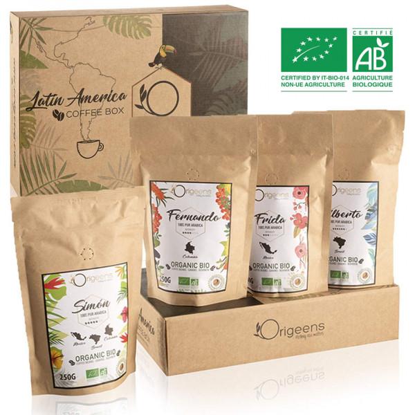 BIO Kaffeebohnen Premium Probierset