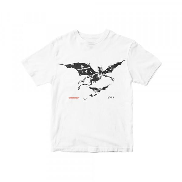 X6 - T-Shirt - Devil - White