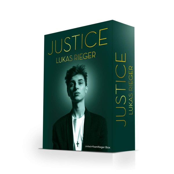 Lucas Rieger -Justice - Limited #TeamRieger Box