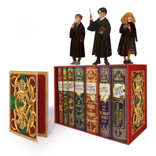 Harry Potter: Band 1-7 im Schuber – mit exklusivem Extra!