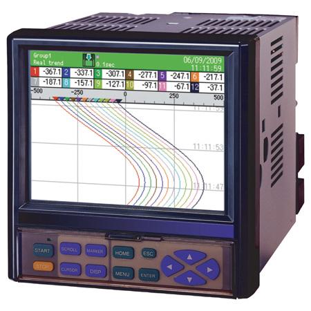 Computer strip chart recorder board