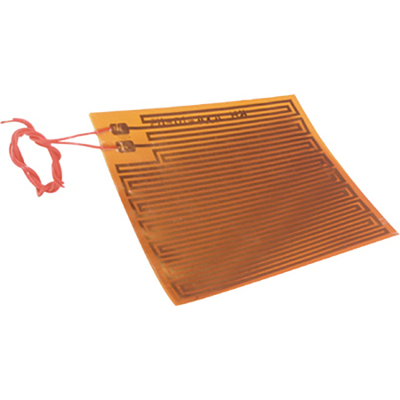 Polyimide Film Insulated Flexible Heaters