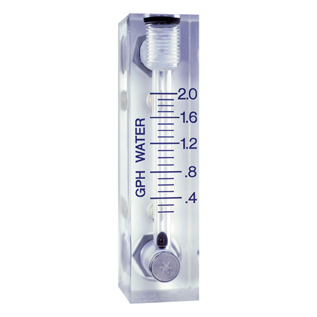 Rotamètres à tube de verre