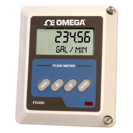 Ultrasonic Flowmeter with Totalization