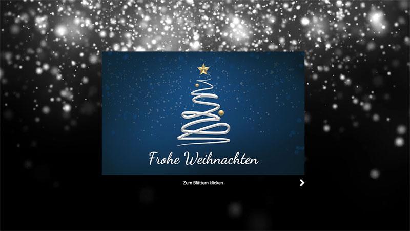 Digitale Weihnachtskarten.Elektronische Weihnachtskarten Fur Firmen 2019 Power Ecard