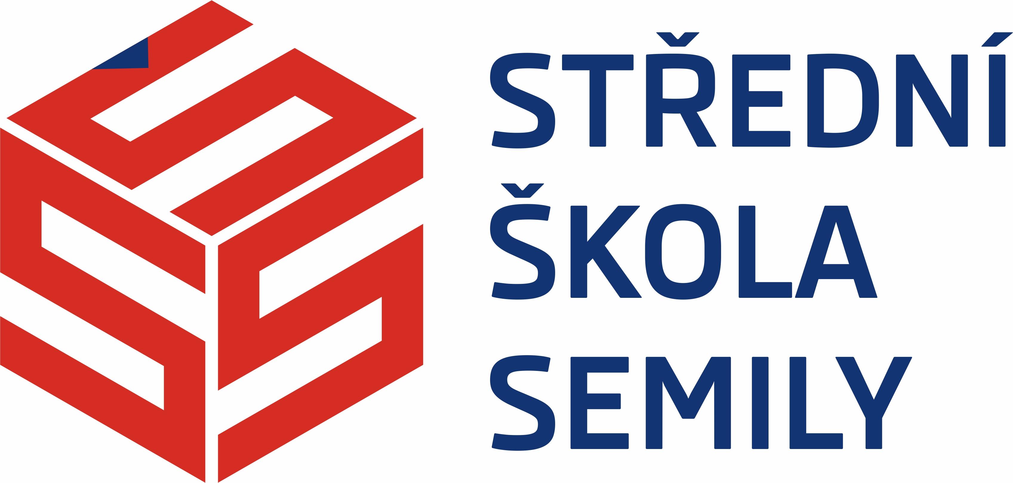 Střední škola Semily logo