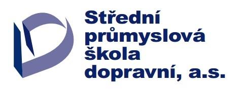 Střední průmyslová škola dopravní, a.s. logo