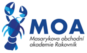 Masarykova obchodní akademie, Rakovník, Pražská 1222 logo