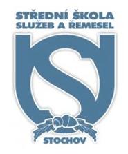 Střední škola služeb a řemesel Stochov logo
