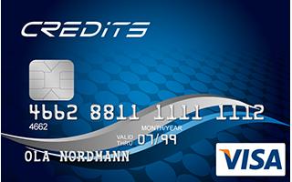 Lån penge fra Credits Visa