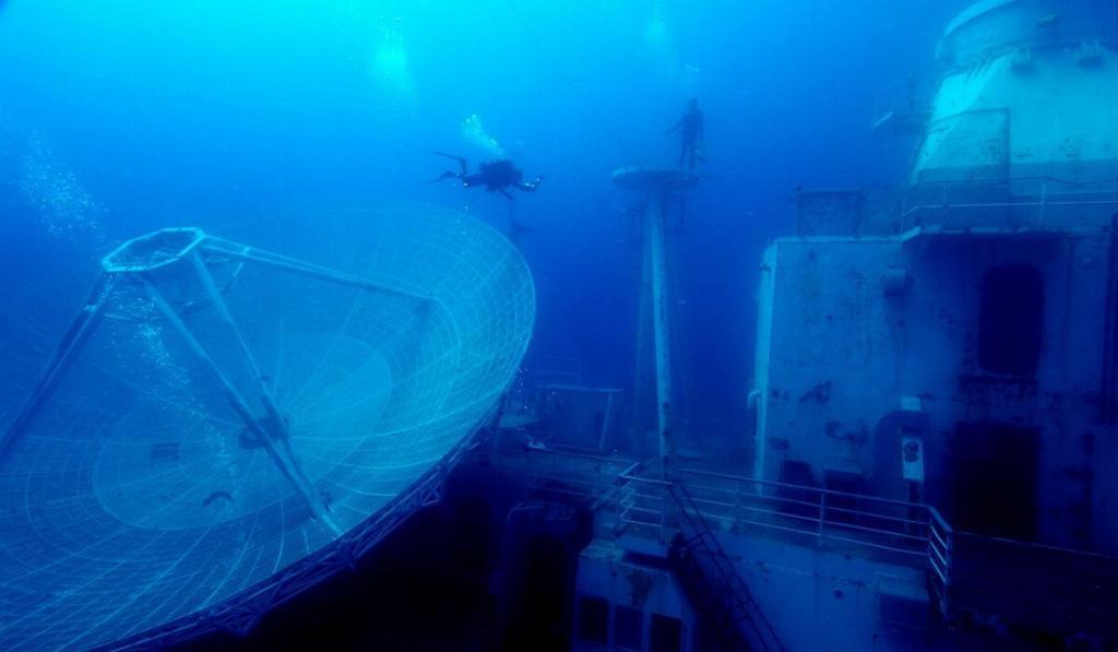 USS Vandenberg wreck