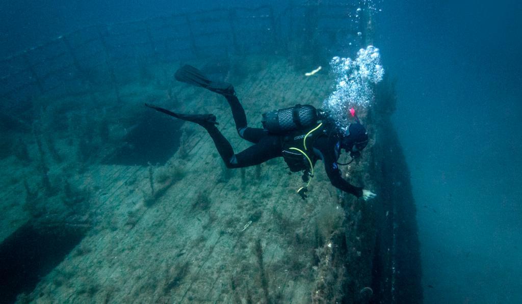 wreck diving malta