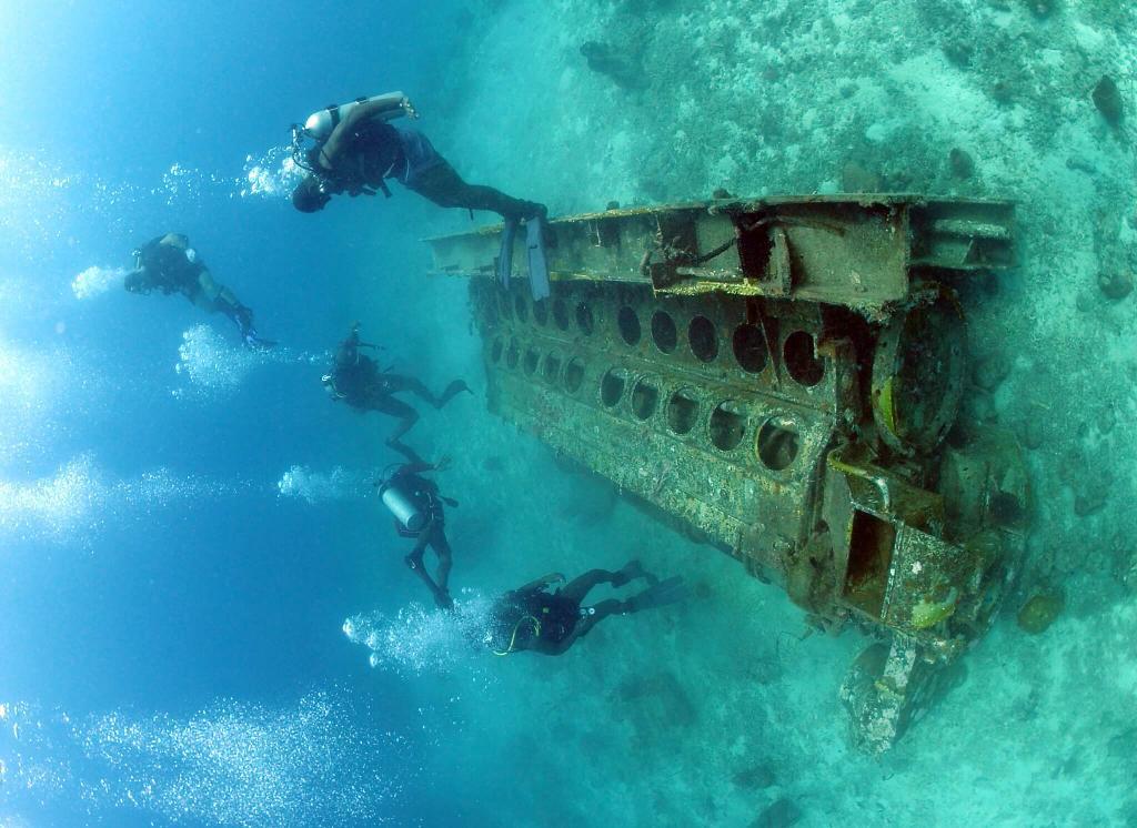 barbados diving