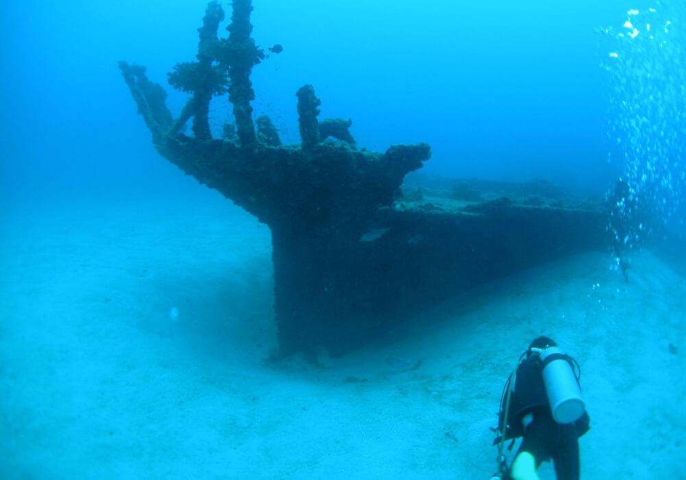 japan scuba diving