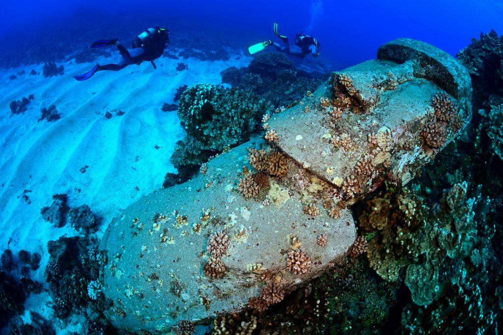 Dive Center Map