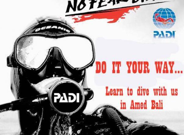 Padi No Fear Diving Amed Bali  Picture