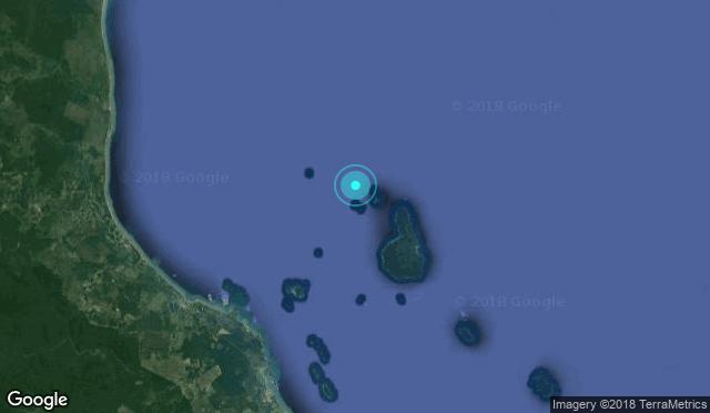 Dive Site Map