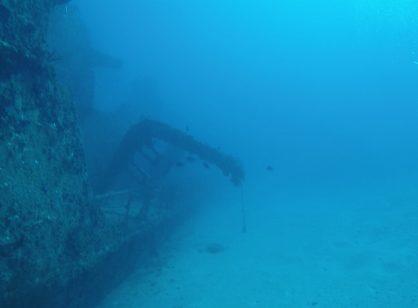 Picture taken by Alexey at Russian Destroyer wreck on Oct 14th, 2018