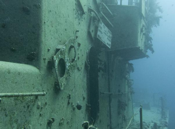 Picture taken by András Radimszky at Satil wreck on Dec 3, 2020