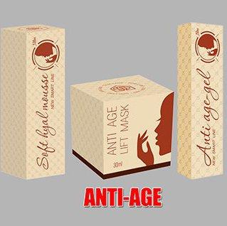 ANTI-AGE жилищная программа ( Anti-age Lift Mask -7 шт, Soft Hyal Mosse -7 шт, Anti-Age Gel-15 шт)