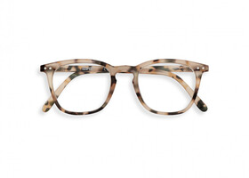 Reading #E Light Tortoise +3 Lesebrille