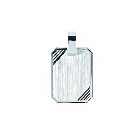 "Kettenanhänger ""Plakette"", 925/- Silber"