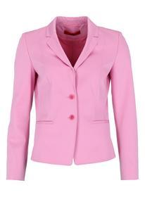 Regular-Fit Blazer aus Stretch-Baumwolle mit Naht-Details