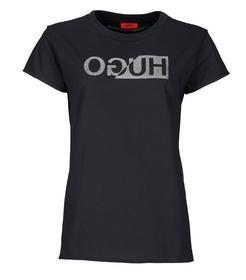Shirt Dijala mit spiegelverkehrtem Logo-Print