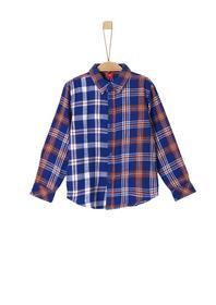 Twill-Hemd mit Karomuster