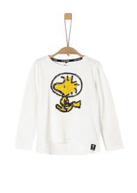 Jerseyshirt mit Peanuts-Motiv