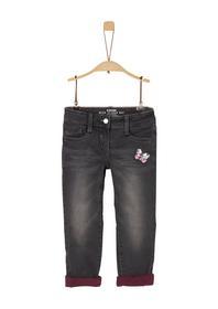 Kathy: Gefütterte Jeans mit Pailletten