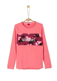 Longsleeve mit Statement-Embroidery