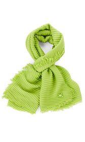 Schal mit Plissierung