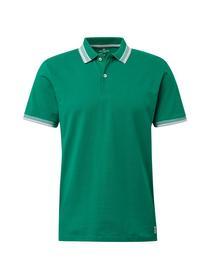 Poloshirt mit abgesetzten Ärmeln und Kragen