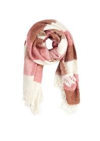 Flauschiger Streifen-Schal