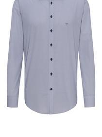 Modern-Fit Baumwollhemd mit Superior-Print