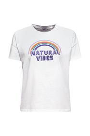 Print-T-Shirt mit Organic Cotton