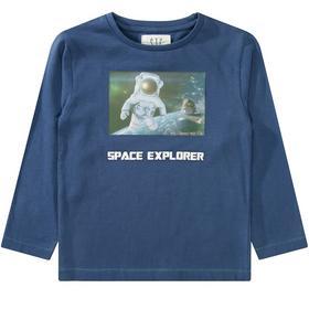 3D Wackelbild Shirt Space Explorer