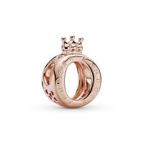 "Pandora Crown ""O"" Logo-Charm"