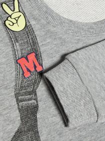 Mini bedrucktes Sweatshirt