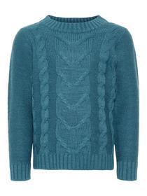 Zopfstrick Pullover