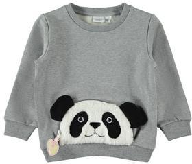 Reissverschlusstaschen Applikation Sweatshirt