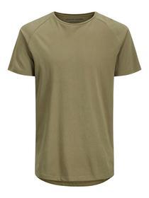Bio-Baumwoll Rundsaum T-Shirt