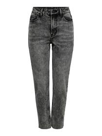 HW Ankle Straight Fit Jeans