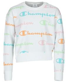 Custom Fit Sweatshirt mit Logo-Muster