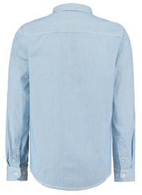 Gestreiftes Hemd mit Brusttasche