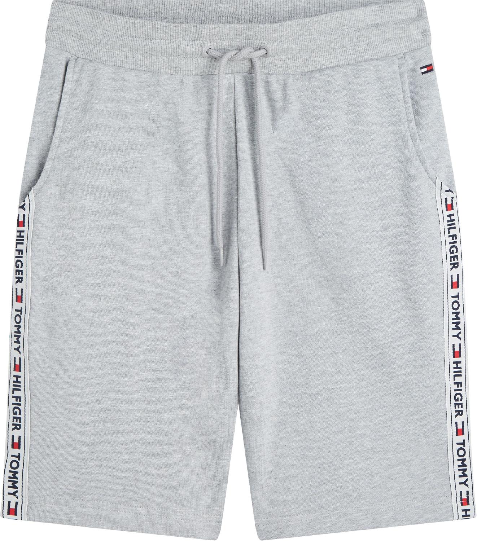 Shorts mit Tunnelzug und Logo